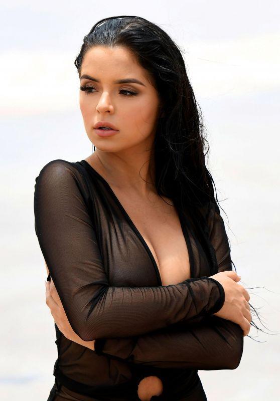 Demi Rose - Beach Shoot in Cape Verde 08/11/2017