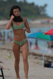 Destiny Sierra DeLisio in a Tight Fitting Bikini - The Setai Hotel Beach in Miami Beach 08/04/2017
