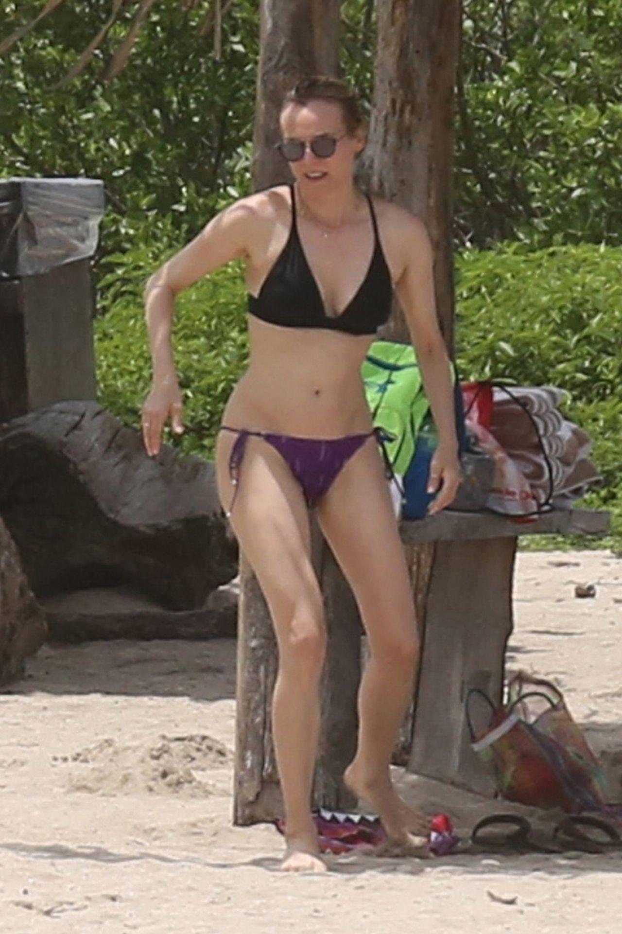 Diane Kruger Shows Off Her Bikini Body Costa Rica Beach