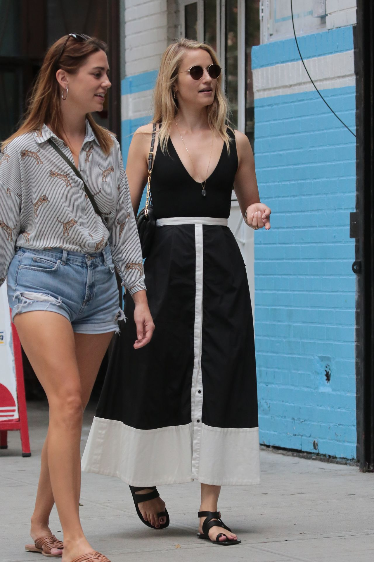 Dianna Agron Casual Style - New York 08/24/2017