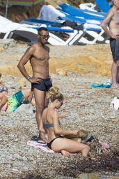 Doutzen Kroes in Bikini at the Beach in Ibiza 08/15/2017