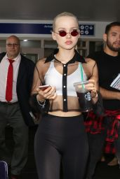 Dove Cameron Style - LAX Airport in LA 08/10/2017