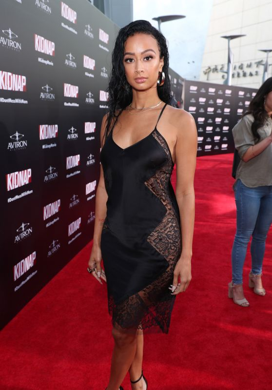 "Draya Michele – ""Kidnap"" Movie Premiere in Los Angeles 07/31/2017"