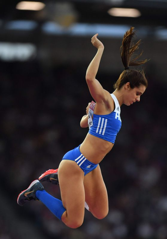 Ekaterini Stefanidi – Women's Pole Vault Final at the IAAF World Championship in London 08/06/2017