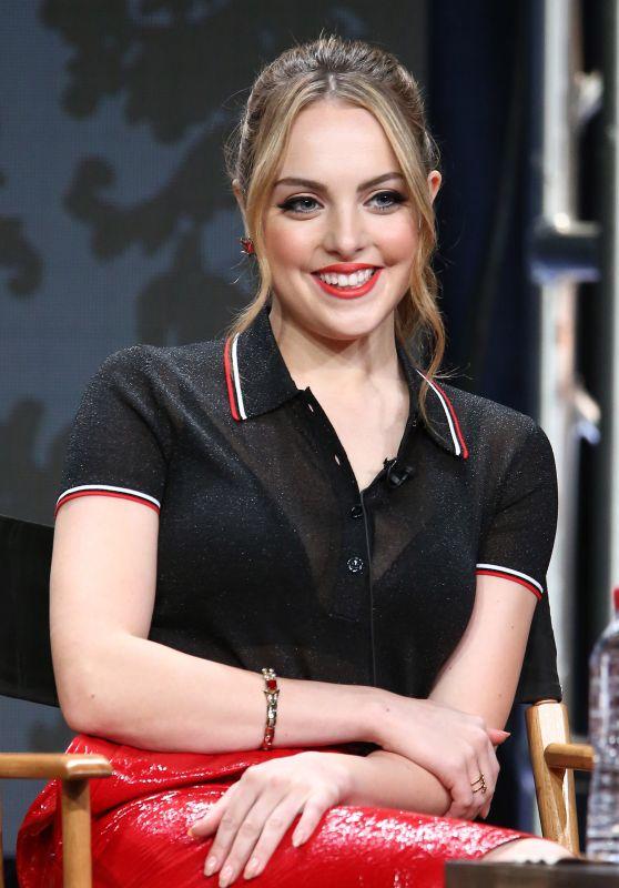 "Elizabeth Gillies - The CW ""Dynasty"" Panel TCA Summer Press Tour in LA 08/02/2017"