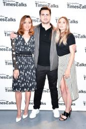 Elizabeth Olsen & Aubrey Plaza - The New York Times presents ScreenTimes in NY 08/07/2017