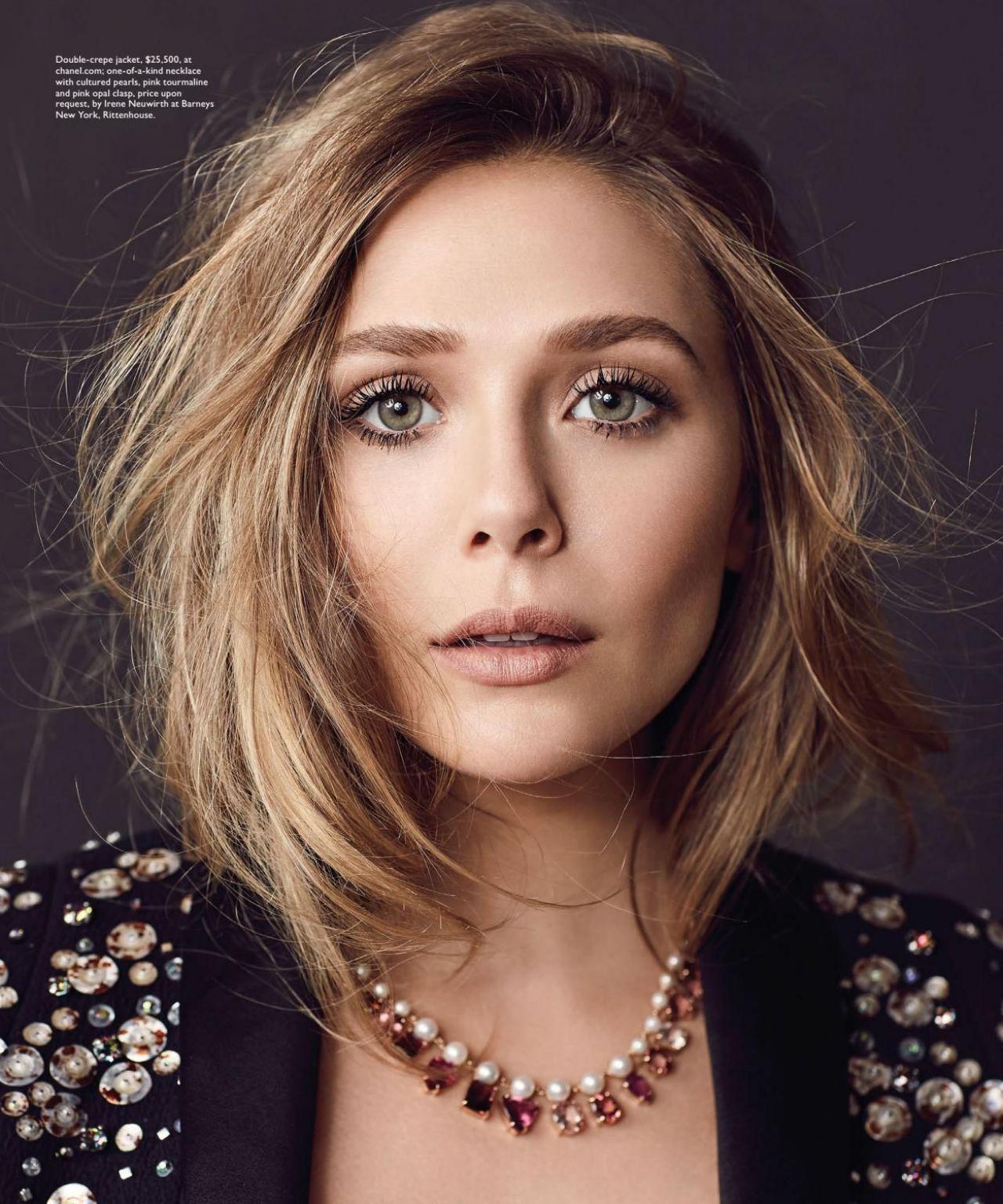 Elizabeth Olsen - Philadelphia Style Magazine September ...