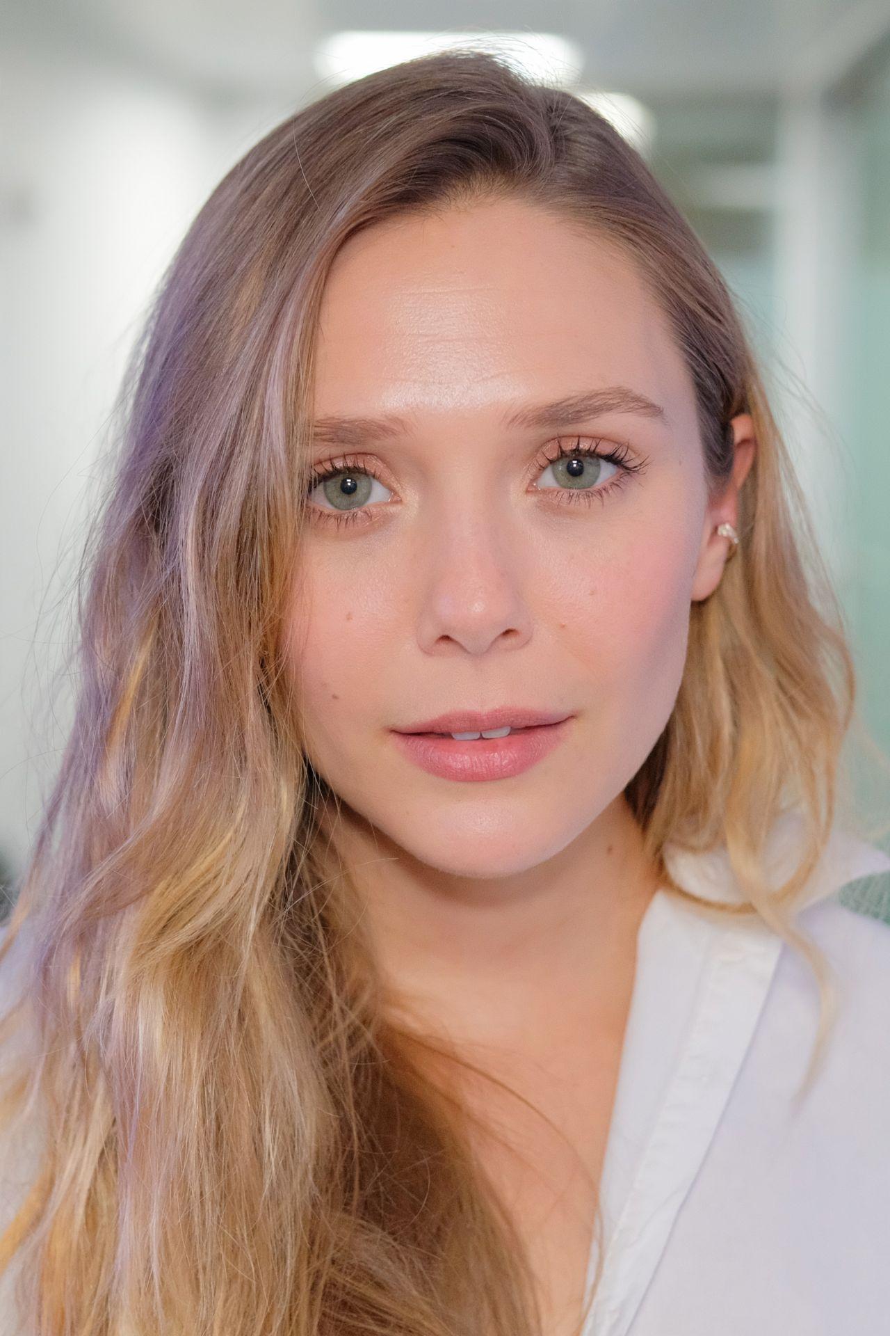 Elizabeth Olsen At Siriusxm In New York