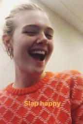 Elle Fanning - Social Media Pics 08/16/2017