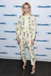Elle Fanning - Visit SiriusXM in New York City 08/30/2017
