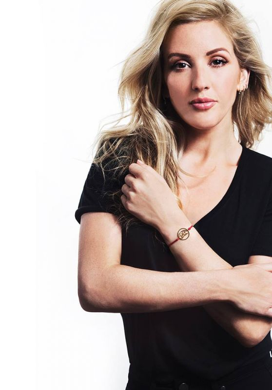 Ellie Goulding - Photoshoot for Daisy Jewellery 2017