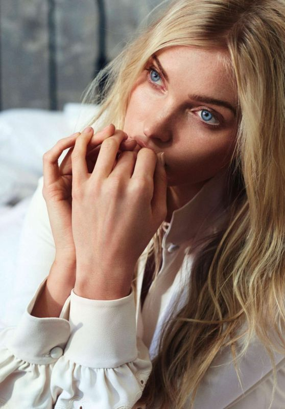 Elsa Hosk - ELLE Magazine Sweden August 2017 Issue