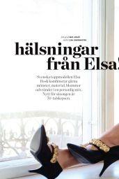 Elsa Hosk - ELLE Magazine Sweden August 2017 Issue