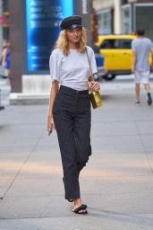 Elsa Hosk – Fittings for the Victoria Secret Fashion Show in NYC 08/27/2017
