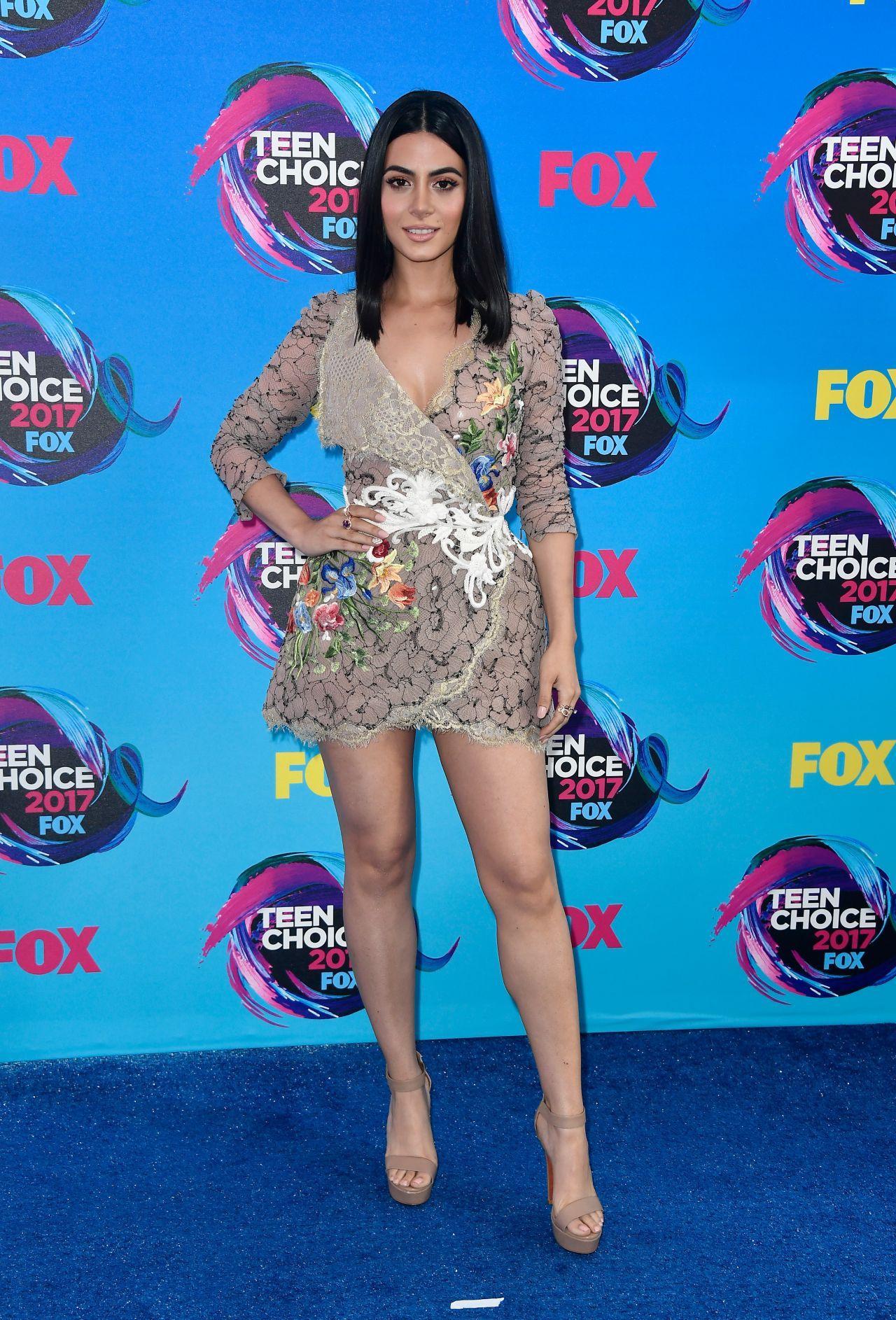 Emeraude Toubia – Teen Choice Awards in Los Angeles 08/13/2017