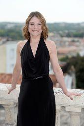 Emilie Dequenne - Francophone Film Festival in Angouleme, France 08/23/2017