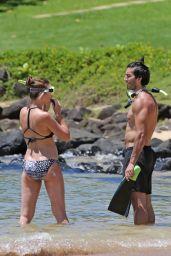 Emily Baldoni in Bikini - Goes Snorkeling in Hawaii, August 2017