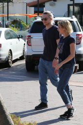 Emma Roberts - Enjoying a Romantic Afternoon With Evan Peters in Malibu