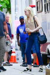 """Emma Stone - """"Maniac"""" Set in NYC 0817/2017"""