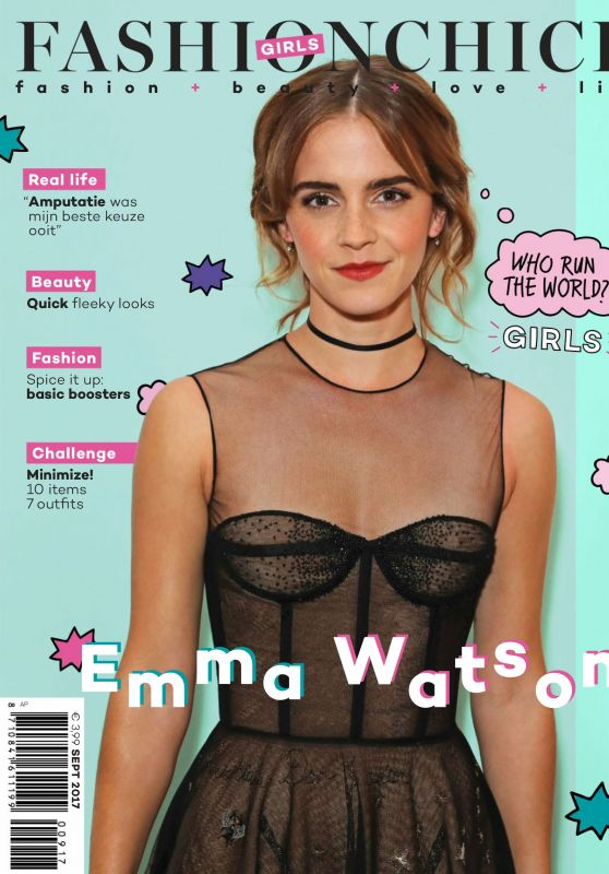 Emma Watson - Fashionchick Girls Magazine September 2017 Issue