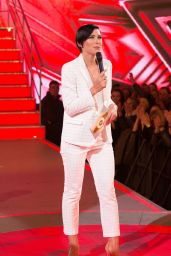 Emma Willis - Celebrity Big Brother First Eviction, London 08/08/2017
