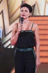 Emma Willis - Celebrity Big Brother: Summer 2017 - Third Live Eviction Show, Elstree 08/15/2017