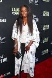 Estelle – Lionsgate Laugh Out Loud Network Party in LA 08/03/2017