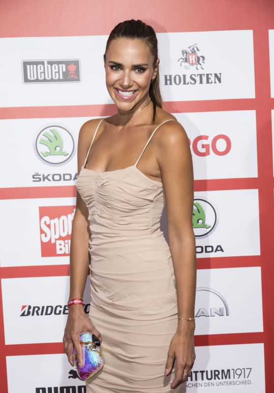Esther Sedlaczek – SPORT BILD Award 2017 in Hamburg
