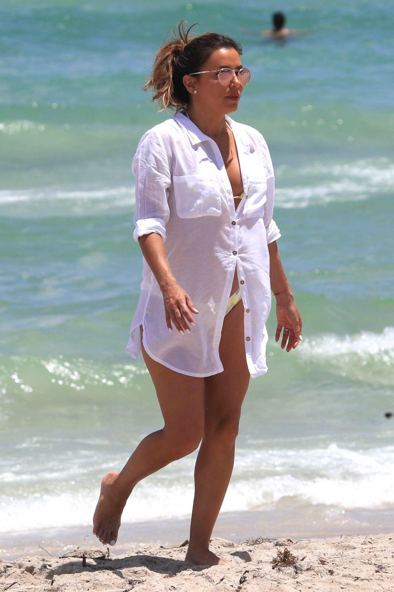 Eva longoria bikini candids beach in delos greece - 2019 year
