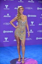 """Fernanda Castillo – """"Premios Tu Mundo"""" in Miami 08/24/2017"""
