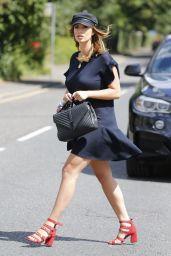 Ferne McCann Leggy in Mini Dress - Essex 07/31/2017