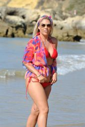 Frankie Essex in Bikini - Beach in Portugal 08/30/2017