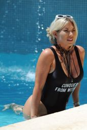 Frankie Essex in Swimsuit - Holiday in Portugal 08/27/2017