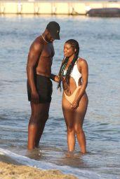 Gabrielle Union in Swimsuit - Mykonos Island 08/24/2017