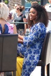Gabrielle Union - Universal Studios in Hollywood 08/11/2017