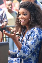 Gabrielle Union - Universal Studios in Hollywood 08/11/2017