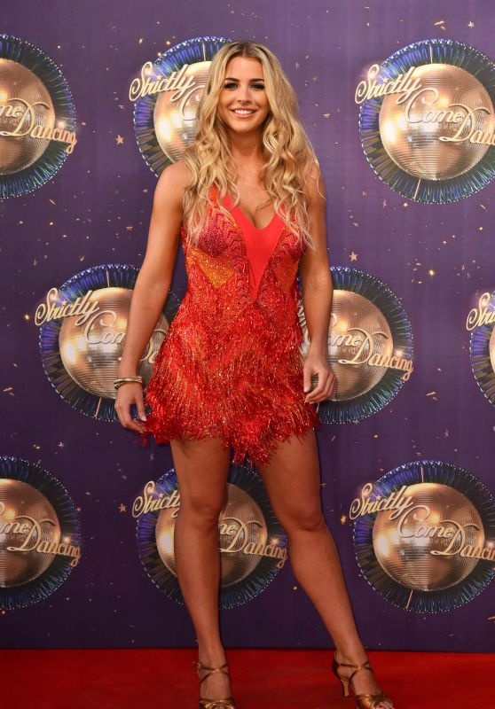 """Gemma Atkinson – """"Strictly Come Dancing"""" Launch in London 08/28/2017"""