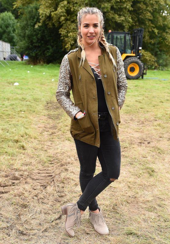 Gemma Atkinson – V Festival at Hylands Park in Chelmsford