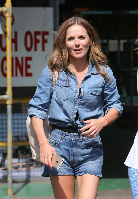 Geri Halliwell at ITV Studios in London, UK 08/28/2017