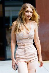 Gigi Hadid - Heads to the Victoria