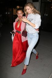 Gigi Hadid - Leaving UNICEF Party at the IMG Offices in NYC 08/28/2017