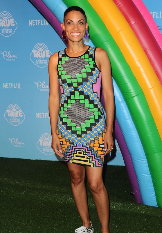"Goapele – ""True And The Rainbow Kingdom"" TV Show Premiere in LA 08/10/2017"