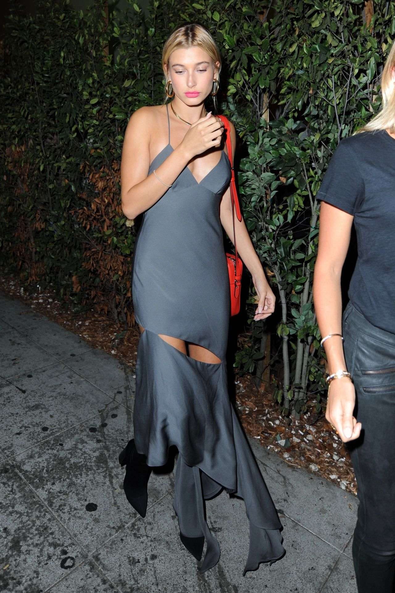 Hailey baldwin night out style leaving delilahs night club in west hollywood naked (38 photos), Is a cute Celebrites foto
