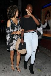 Halle Berry - Leave the Largo at the Coronet Music and Comedy Club in Los Angeles 08/10/2017