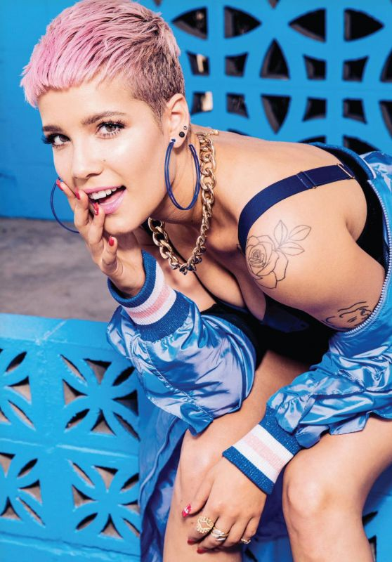 Halsey - Playboy Magazine September/October 2017 Issue