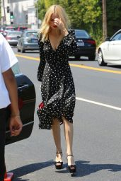 Halston Sage - Arrives at the Day of Indulgence Party in Brentwood 08/13/2017