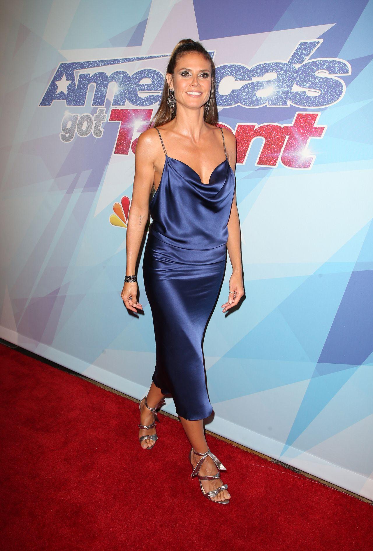 Heidi Klum Quot America S Got Talent Season 12 Live Show In