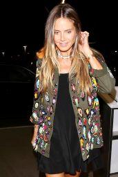 Heidi Klum - Los Angeles International Airport 08/18/2017