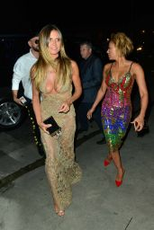 """Heidi Klum & Melanie Brown - Arriving at the """"Beauty & Essex"""" VMA After Party in Hollywood 08/27/2017"""