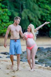 Heidi Montag and Spencer Pratt - Hawaii 08/09/2017